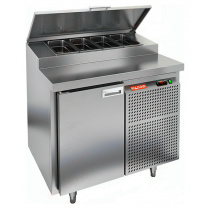 Стол охлаждаемый для пиццы HICOLD PZ2-1/GN (1/6H)