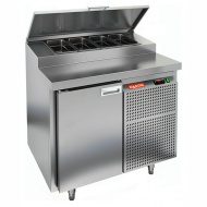 Стол охлаждаемый для пиццы HICOLD PZ1-1/GN (1/3H)