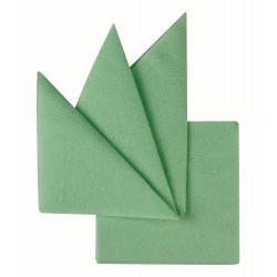 Салфетки бумажные салатовые 240х240 мм 400 шт - интернет-магазин КленМаркет.ру