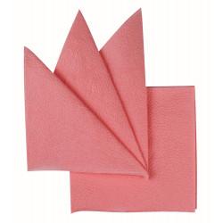 Салфетки бумажные розовые 240х240 мм 400 шт - интернет-магазин КленМаркет.ру