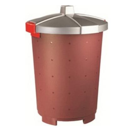 Бак для пищевых продуктов с крышкой 45 л [432106121] - интернет-магазин КленМаркет.ру