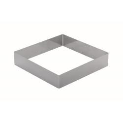 Форма для торта квадратная 220 мм, нержавеющая сталь - интернет-магазин КленМаркет.ру
