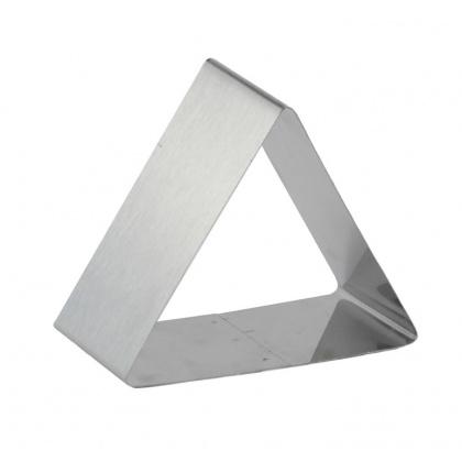 Форма для выпечки/выкладки гарнира или салата «Треугольник» 80х80 мм - интернет-магазин КленМаркет.ру