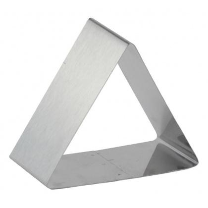 Форма для выпечки/выкладки гарнира или салата «Треугольник» 120х120 мм - интернет-магазин КленМаркет.ру