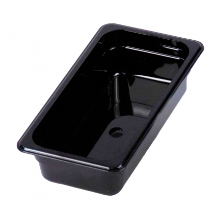 Гастроемкость из поликарбоната GN 1/4 265х164х65 мм черная [JW-P142] - интернет-магазин КленМаркет.ру