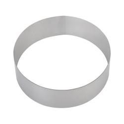 Форма для торта круглая 140 мм, нержавеющая сталь - интернет-магазин КленМаркет.ру