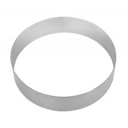 Форма для торта круглая 200 мм, нержавеющая сталь - интернет-магазин КленМаркет.ру