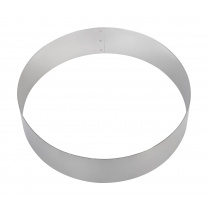 Форма для торта круглая Luxstahl 200 мм, нержавеющая сталь