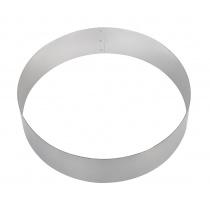 Форма для торта круглая Luxstahl 220 мм, нержавеющая сталь