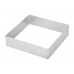 Форма для выпечки квадратная 200 мм, нержавеющая сталь - интернет-магазин КленМаркет.ру