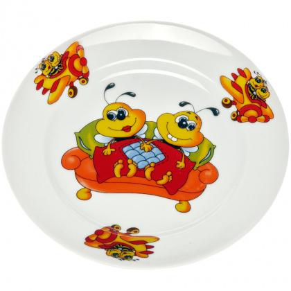 Тарелка мелкая 175 мм Пчелы - интернет-магазин КленМаркет.ру
