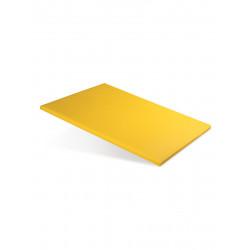 Доска разделочная 400х300х12 мм желтый полипропилен - интернет-магазин КленМаркет.ру