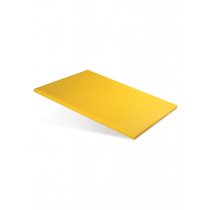 Доска разделочная 400х300х12 мм желтый полипропилен