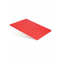 Доска разделочная 500х350х18 мм красный полипропилен