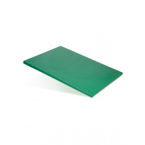Доска разделочная 500х350х18 мм зеленый полипропилен