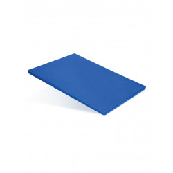 Доска разделочная 500х350х18 мм синий полипропилен - интернет-магазин КленМаркет.ру