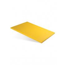 Доска разделочная 600х400х18 мм желтый полипропилен
