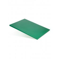 Доска разделочная 600х400х18 мм зеленый полипропилен - интернет-магазин КленМаркет.ру