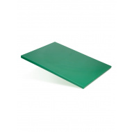 Доска разделочная 600х400х18 мм зеленый полипропилен