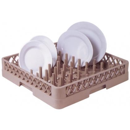 Кассета посудомоечная для тарелок 500х500х100 мм [JW-64В] - интернет-магазин КленМаркет.ру