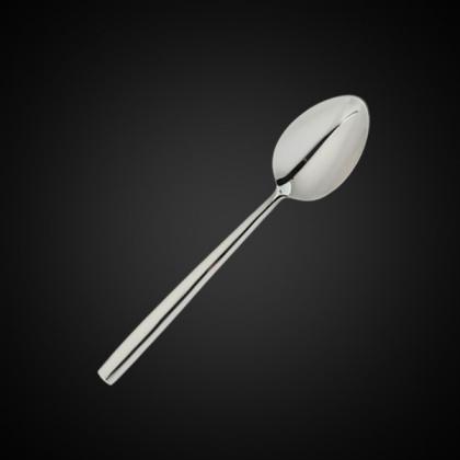 Ложка десертная «Rimini» Luxstahl [DJ-05491] - интернет-магазин КленМаркет.ру