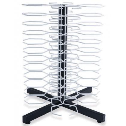 Держатель «MetalCarrelli» на 48 тарелок (180 мм и 240 мм) [3020] - интернет-магазин КленМаркет.ру