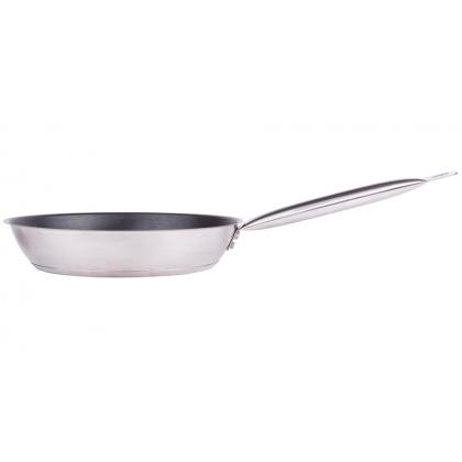 Сковорода Luxstahl 300/50 из нержавеющей стали, антипригарное покрытие [C24131] - интернет-магазин КленМаркет.ру