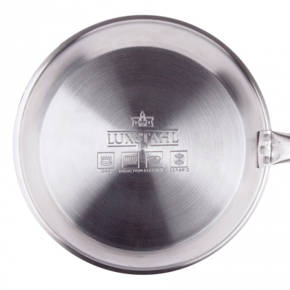 Сковорода Luxstahl 340/50 из нержавеющей стали, антипригарное покрытие [C24131] - интернет-магазин КленМаркет.ру