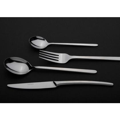 Нож столовый «Аляска» Luxstahl [H009, DJ-05420] - интернет-магазин КленМаркет.ру