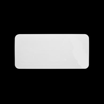 Блюдо прямоугольное плоское «Chan Wave» 275х130 мм