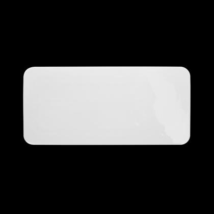 Блюдо прямоугольное плоское «Chan Wave» 310х140 мм - интернет-магазин КленМаркет.ру