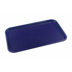Поднос столовый из полипропилена 525х325 мм синий [4660011181349] - интернет-магазин КленМаркет.ру