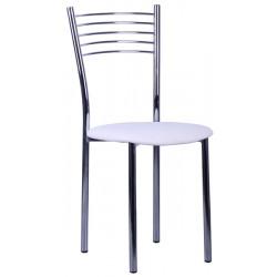 Стул «Оливия» с мягким сиденьем (хромированный каркас) - интернет-магазин КленМаркет.ру