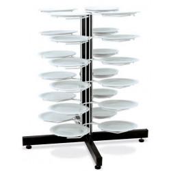 Держатель «MetalCarrelli» на 24 тарелки (180 мм и 240 мм) [3018] - интернет-магазин КленМаркет.ру
