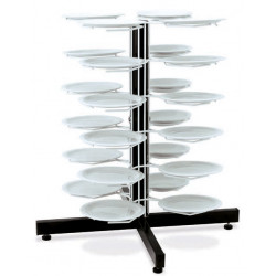 Держатель «MetalCarrelli» на 24 тарелки (240 мм и 310 мм) [3019] - интернет-магазин КленМаркет.ру