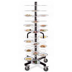Тележка-шпилька «MetalCarrelli» на 72 тарелки (240 мм и 310 мм) [3012] - интернет-магазин КленМаркет.ру