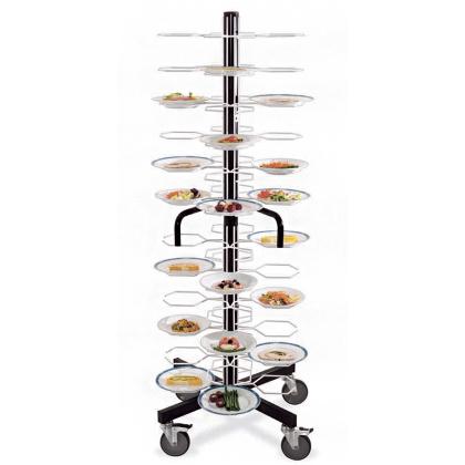 Тележка-шпилька «MetalCarrelli» на 48 тарелок (180 мм и 240 мм) [3008] - интернет-магазин КленМаркет.ру