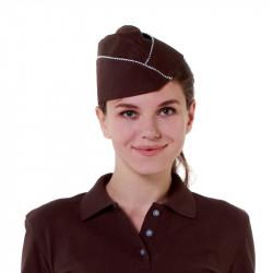 Пилотка коричневая [016] - интернет-магазин КленМаркет.ру