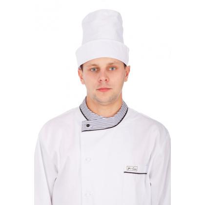 Колпак поварской белый [0156] - интернет-магазин КленМаркет.ру