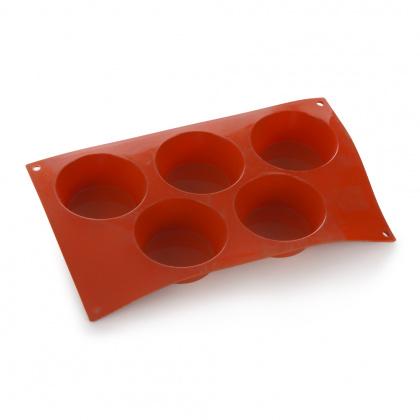 Форма для выпечки Большой маффин, 5 элементов Silicon Flex [SF024/N] - интернет-магазин КленМаркет.ру
