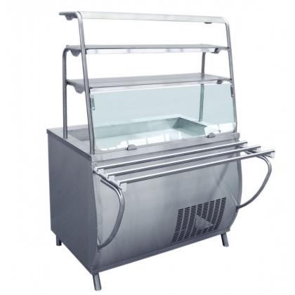 Прилавок-витрина холодильный ABAT «Премьер» ПВВ-70Т-01 - интернет-магазин КленМаркет.ру