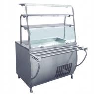 Прилавок-витрина холодильный ABAT «Премьер» ПВВ-70Т-01