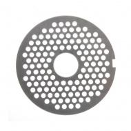 Решетка №2 5мм для мясорубки МИМ-600 под бурт (МИМ-500)