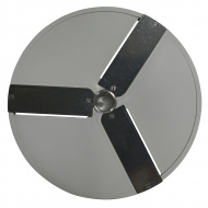 Диск P2 для овощерезки HLC-300 слайсер 2 мм  3-х лучевой (корп пласт) /CONVITO / STARFOOD / VIATTO
