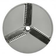 Диск PB2 для овощерезки HLC-300 3-х лучевой слайсер волнистый (корп пласт) /CONVITO / STARFOOD / VIATTO