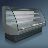 Витрина холодильная «Диона» ВС 21Т-375 вентилируемая