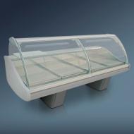 Витрина холодильная угловая 45° «Диона» ВС-21 УВ вентилируемая
