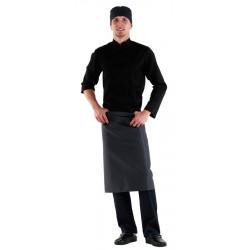 Фартук шеф-повара серый [00300]  - интернет-магазин КленМаркет.ру