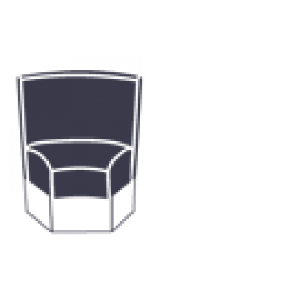 Модуль трапеция «Милуоки» с посадочным местом - интернет-магазин КленМаркет.ру