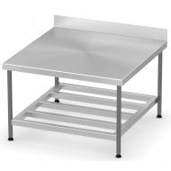 Стол производственный пристенный К1000/600/850
